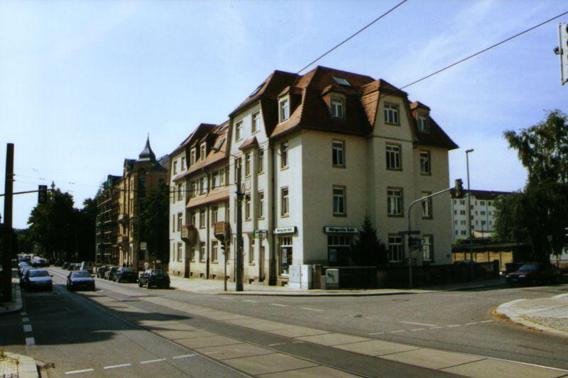 Aussenansicht der Filiale von Hörgeräte Kahl in Dresden Löbtau